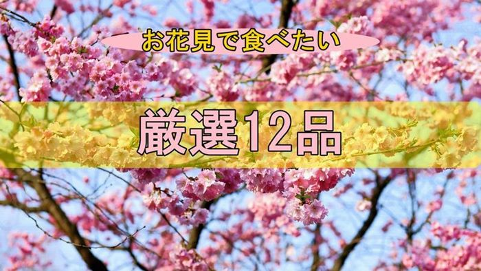 お花見で食べたくなるド定番料理まとめ【厳選12品】